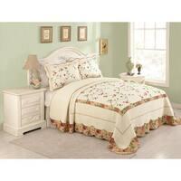 Peking Handicraft Sylvia Cotton Bedspread (Shams Sold Separately)