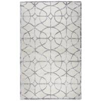 Rizzy Home Monroe Denim Wool Hand-tufted Trellis Area Rug (8' x 10')