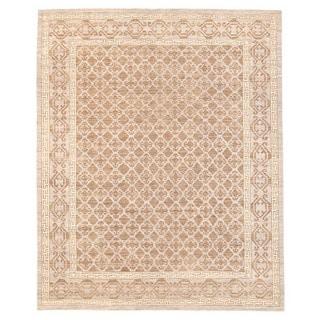Herat Oriental Afghan Hand-knotted Vegetable Dye Tribal Gabbeh Wool Rug (7'11 x 9'9)
