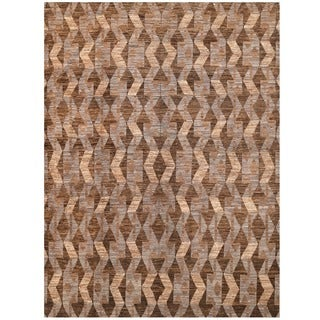 Herat Oriental Afghan Hand-knotted Vegetable Dye Tribal Gabbeh Wool Rug (8'8 x 11'10)