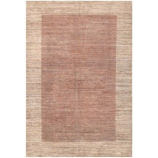 Herat Oriental Afghan Hand-knotted Vegetable Dye Tribal Gabbeh Wool Rug (4'5 x 6'7)