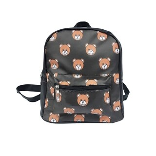 Alfa Pop Art Bear Faces Fashion Backpack