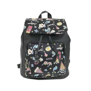 ALFA POP Art Happy Flap Over Fashion Backpack