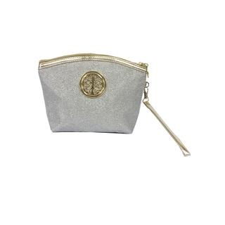 ALFA Glitter Fabric Cosmetic Bag