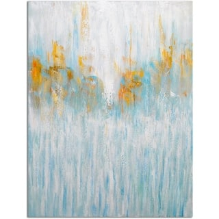 Omax Decor 'Sleets Absolution of Light' Original Oil Painting on Canvas