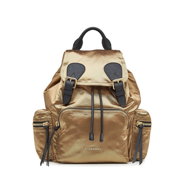 Luggage   Bags     Bags     Backpacks. Burberry Women  x27 s Gold Satin  Rucksack Fashion Backpack bef3ce8ab0ed4