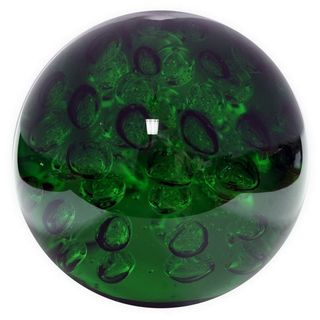 Benzara 73907 8-inch Bubble Glass Orb