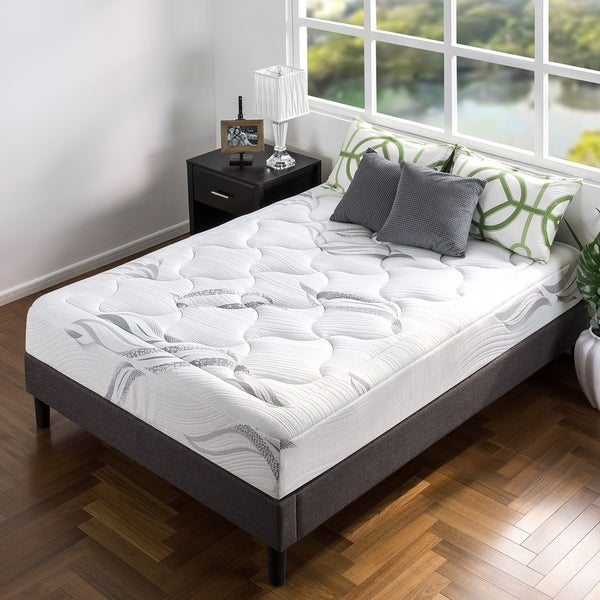 10 Ultra Small Bedrooms With King Size Beds: Shop Priage By Zinus 10 Inch Twin-Size Ultra Plush Memory