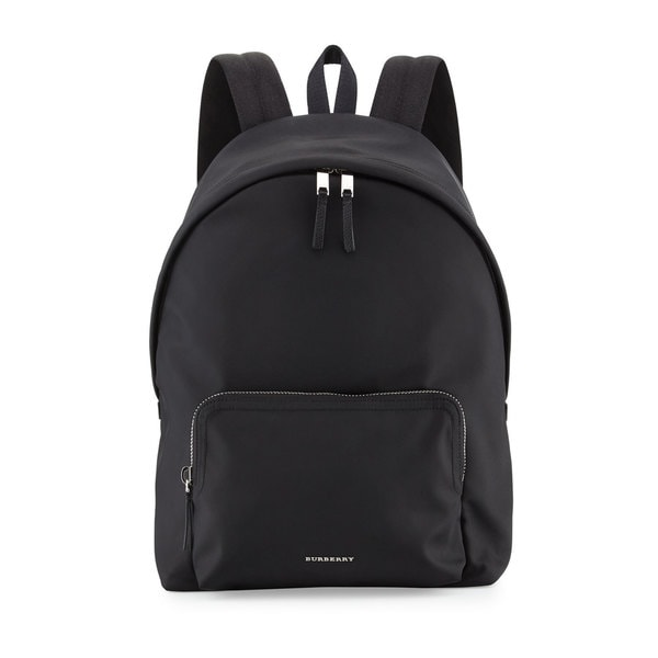 Shop Burberry Men s Black Nylon Backpack - Free Shipping Today ... 4f3140692cacb