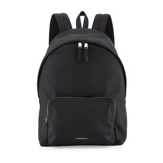 Burberry Men's Black Nylon Backpack