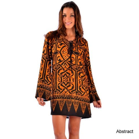 Handmade Womens Cover-Up Tunic (Indonesia)