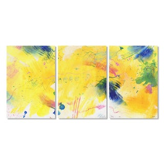 Sheila Golden 'Celebration 4' Canvas Art