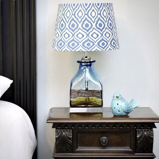 River of Goods by Tracy Porter Willow Ikat Hand-Blown Lamp