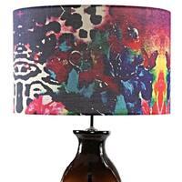 Tracy Porter Roxy Attic Signature Print Hand-Blown Table Lamp