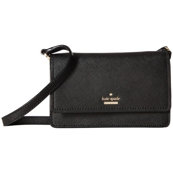 14ce105a123c9 Kate Spade New York Cameron Street Arielle Black Leather Mini Crossbody Bag