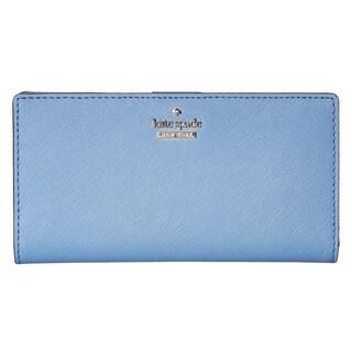 Kate Spade New York Cameron Street Stacy Tile Blue Wallet