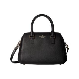 kate spade new york Greene Street Seline Black Satchel Handbag