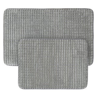 2-Piece Memory Foam Bath Mat Set by Windsor Home - see description