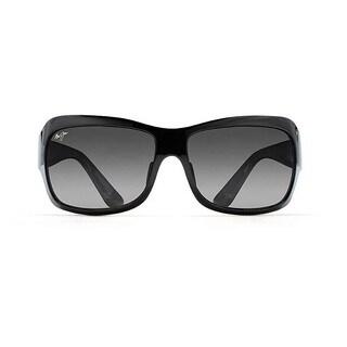 Maui Jim Seven Pools Gloss Black /Neutral Grey Polarized Sunglasses