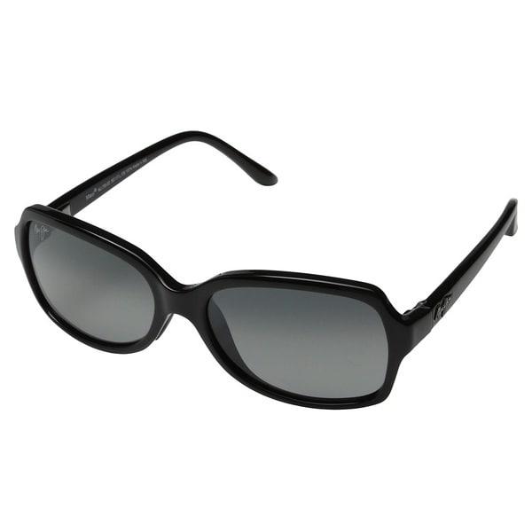 2a1ca5e64b Maui Jim Cloud Break Gloss Black Neutral Grey Polarized Sunglasses