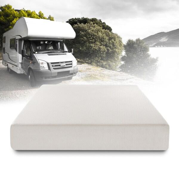 shop priage 10 inch short queen size ultima comfort rv memory foam mattress free shipping. Black Bedroom Furniture Sets. Home Design Ideas
