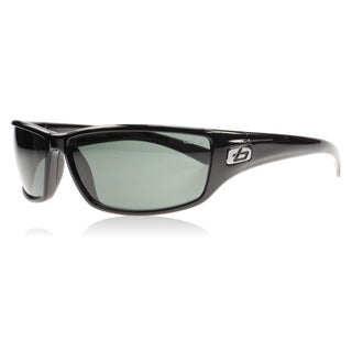 Bolle 11328 unisex Python Shiny Black Frames/ Polarized TNS lens Sunglasses
