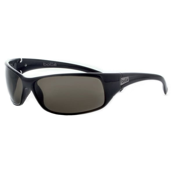 e6a5789d41fe Shop Bolle Unisex Recoil Sport 10406 Shiny Black Frames With Tns Lenses  Sunglasses - Free Shipping On Orders Over  45 - Overstock - 14651601