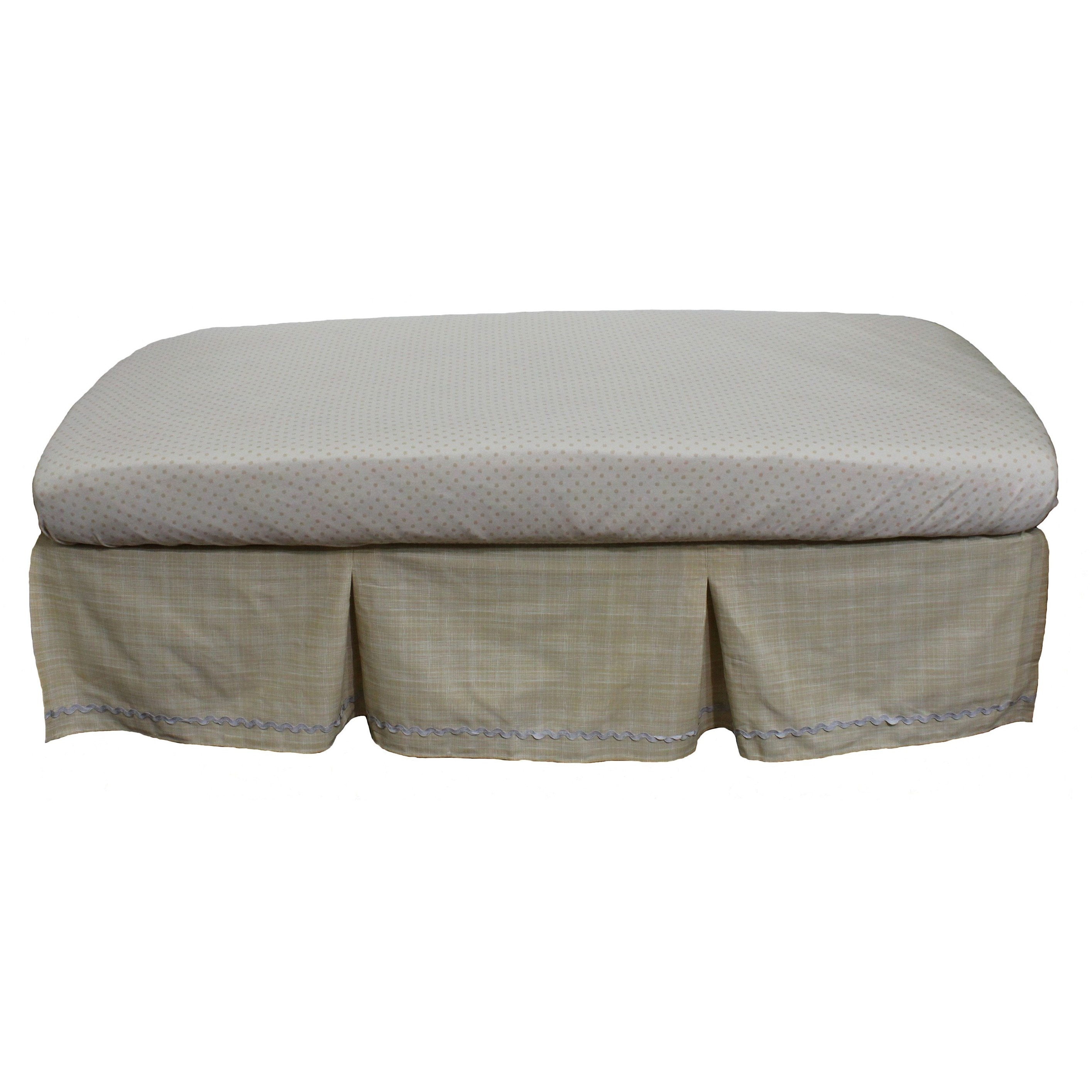 Nurture Basix Tan Twill Organic 2-piece Bedding Starter S...