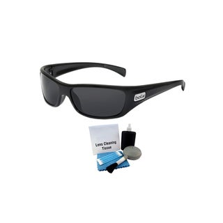 Bolle 11227 Unisex Shiny Black Frame Copperhead Sunglasses