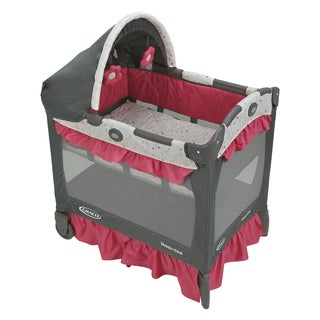 Graco Alma Travel Lite Pink Crib