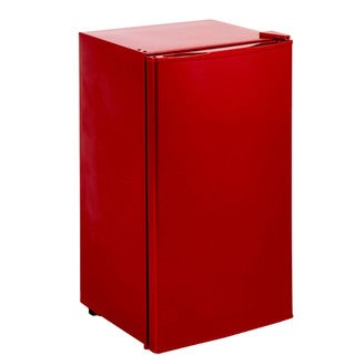 Avanti Compact Refrigerator, Red