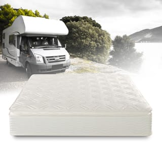 Priage Deluxe Short Queen-size Pillowtop Pocketed Spring RV Mattress|https://ak1.ostkcdn.com/images/products/14651636/P21189344.jpg?impolicy=medium