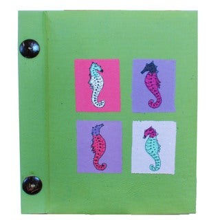 Handmade Multicolored Paper Photo Album (10 Pages) (Indonesia)