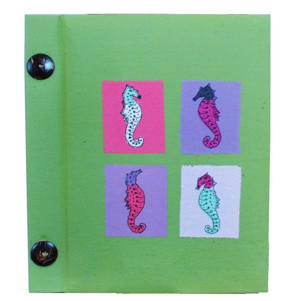 Handmade Multicolored Paper Photo Album (10 Pages) (Indonesia)