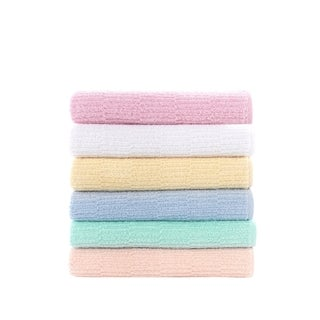 """Turkish Cotton Hand and Hair Towel - 19"""" x 35"""" (Set of 6)"""