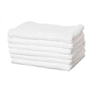"Turkish Cotton Hand and Hair Towel - 19"" x 35"" (Set of 6)"