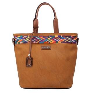 Nikky Pana Brown Tote Bag
