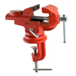 2.25 Inch Jaw Steel Universal 360 Swivel Table Top Vise By Stalwart