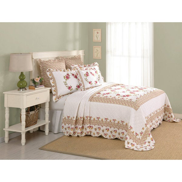 Peking Handicraft Luise Bedspread (Shams Sold Separately)
