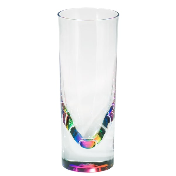 Merritt International 23189 Rainbow Teardrop Tumbler 14 OZ. (Pack of 1)