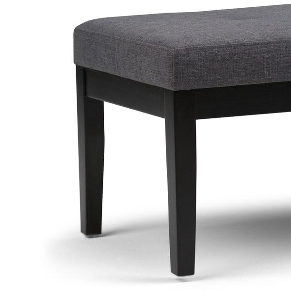 Outstanding Shop Wyndenhall Abbey 43 Inch Wide Contemporary Ottoman Spiritservingveterans Wood Chair Design Ideas Spiritservingveteransorg