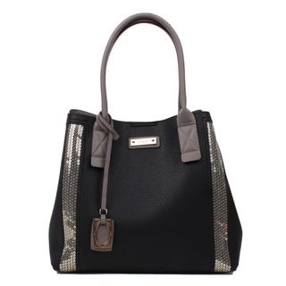 Nikky Geba Black Satchel Handbag