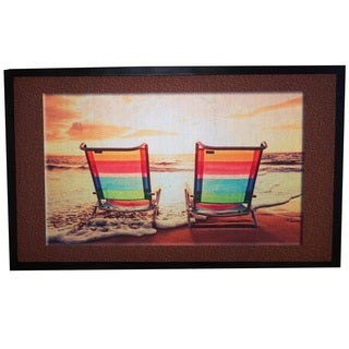 Home Fashion Designs Bora Bora Collection Beach Chairs Printed Outdoor Welcome Mat