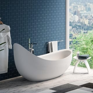 two person freestanding tub. Maykke 79 inch Hialeah White Freestanding Bathtub Tubs For Less  Overstock com