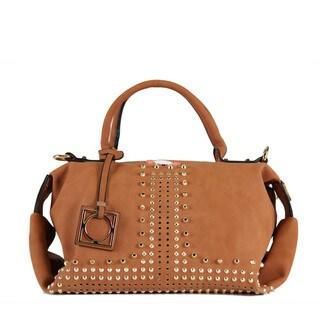 Nikky Hestia Brown Boston Satchel Handbag