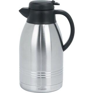 Trudeau 088223 2 Liter Stainless Steel Lyra Carafe