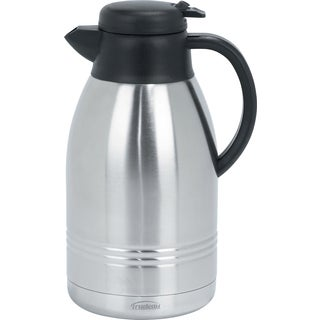 Trudeau 088223 2 Liter Stainless Steel Lyra Carafe