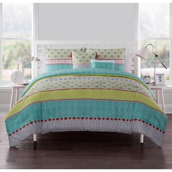 VCNY Home Dharma Reversible 5-piece Comforter Set