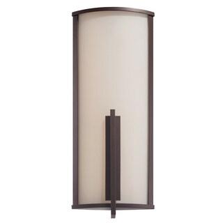 Modern Forms Spire Bronze Aluminum LED Wall Light
