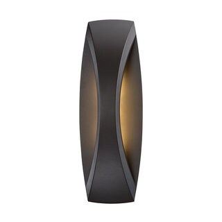 Arch Black Aluminum LED Wall Light